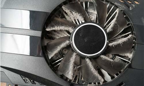 Clean GPU Fan and Heatsink