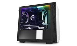best fan setup for nzxt h210i